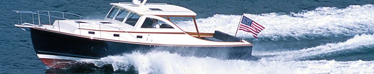 Ellis 36 Express Cruiser at Cruise speed