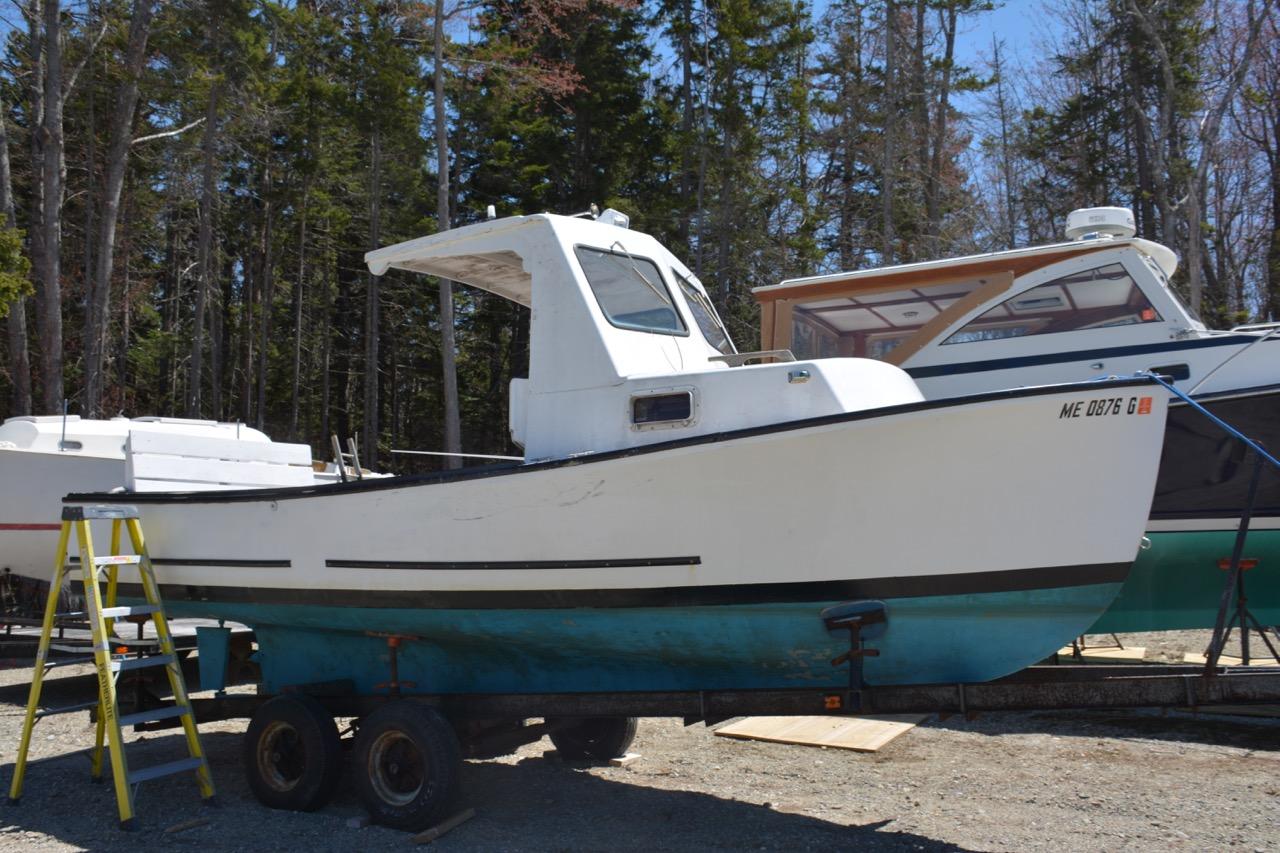 Lobster Boats For Sale >> 22 Sisu Lobster Boat For Sale Ellis Boat Brokerage