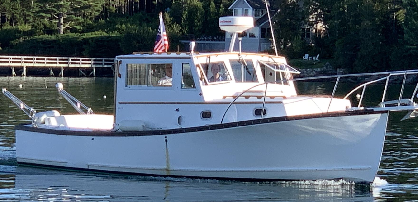 Ellis 28 Lobster Boat for Sale